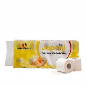 Giấy vệ sinh cuộn nhỏ japani silk 10 - JPS10- Khongchicogiay.com